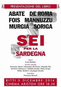 Presentazione Libro Sei per la Sardegna